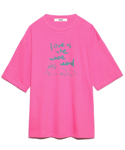 FURUR プリントTシャツ