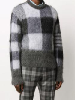 Thom Browne チェッカー セーター
