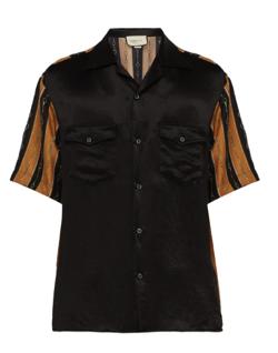 GUCCI ホースビットプリント ショートスリーブシャツ