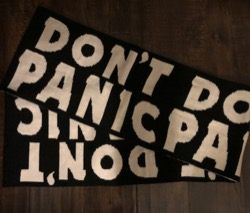 MARC by MARCJACOBS Don'tPanic ウールスカーフ