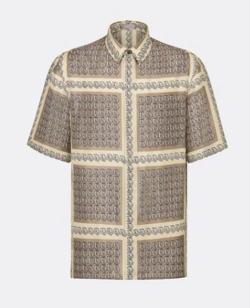 Dior ディオール オブリーク シルクツイル シャツ