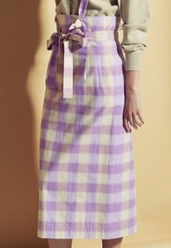 CAST: ギンガムチェックタイトスカート