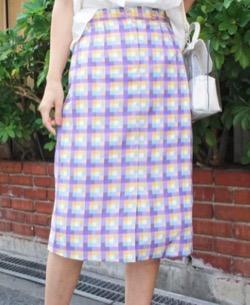 MODE ROBE マルチカラータイトスカート