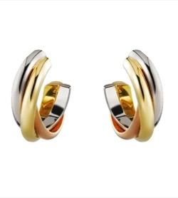Cartier(カルティエ)Trinity earrings