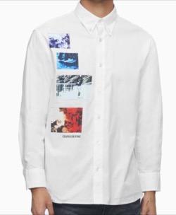 CALVIN KLEIN SKATER GRAPHIC リラックスシャツ