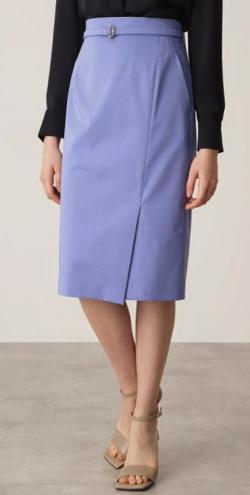 PINKY&DIANNE Tバーベルト付きタイトスカート