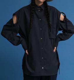 MAISON SPECIAL 2WAYスリーブビッグシャツ