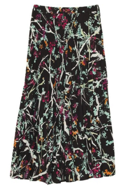 UN3D. プリントオリガミプリーツスカート