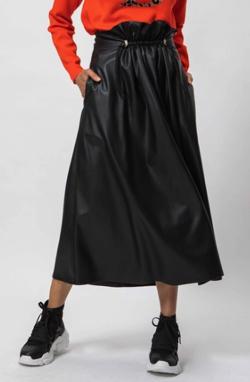 DOUBLE STANDARD CLOTHING フェイクレザースカート