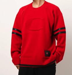 COACH X CHAMPION フットボール セーター