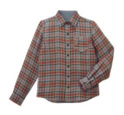MIKI HOUSE リバーシブルチェックシャツ