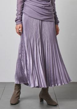 SNIDEL シャイニープリーツナロースカート
