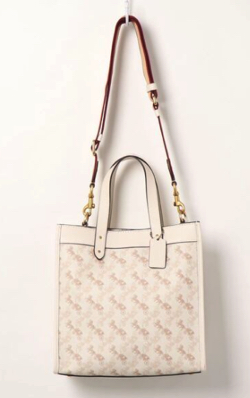 COACH Horse & Carriage Coated Canvas Tote