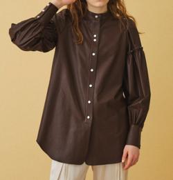INella BIGギャザースリーブシャツ