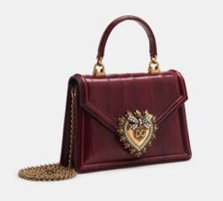 Dolce & Gabbana Devotion バッグ スモール イールスキン