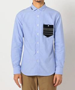 GLOSTER オックスハンドステッチシャツ