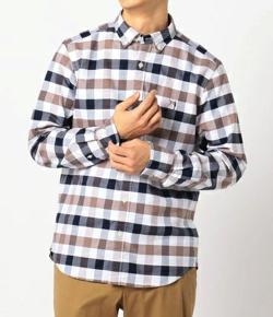 GLOSTER ASTLAD刺しゅう ボタンダウンシャツ