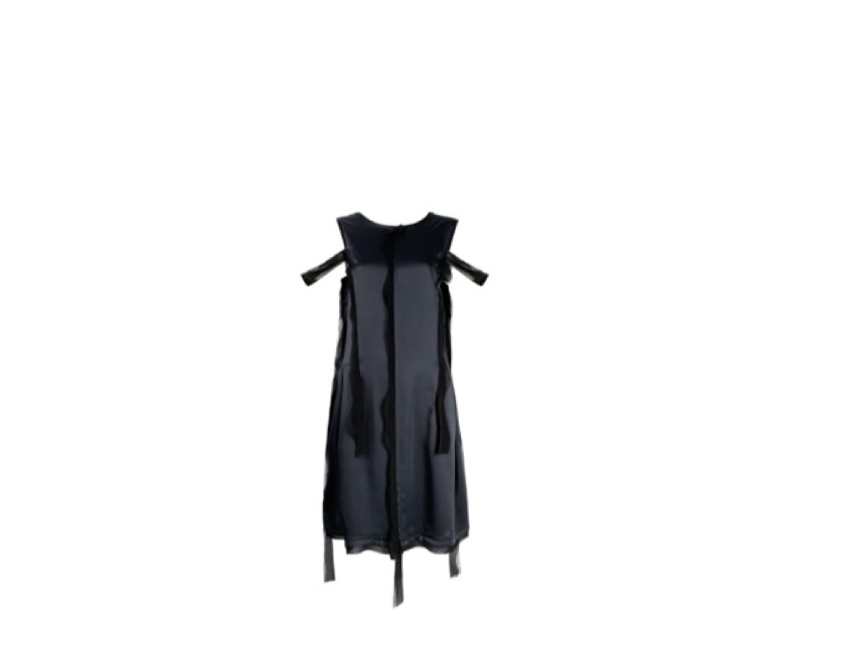 石橋静河カナさんが【めざましテレビ】の番組の中で着用している服(服装)・可愛い衣装(洋服・ファッション・ブランド・バッグ・アクセサリー等)やコーデ石橋静河 衣装【めざましテレビ】着用 黒いドレスのブランドはこちら♪