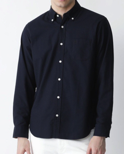 BLACK LABEL CRESTBRIDGE スーピマコットンオックスボタンダウンシャツ