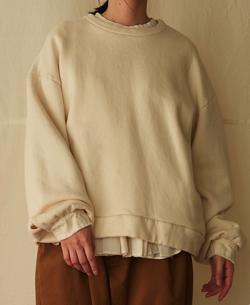 suzuki takayuki sweat pullover/スウェットプルオーバー