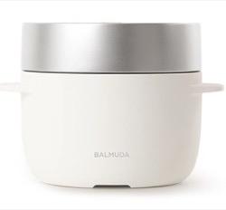 BALMUDA The Gohan 炊飯器 3合 K03A-WH [K03AWH]