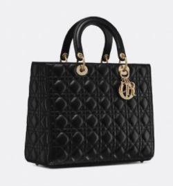 Christian Dior LADY DIOR ラージバッグ
