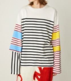 nagostans Cotton Border Long Sleeve
