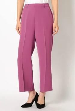 MEW'S REFINED CLOTHES(ミューズ リファインド クローズ)フレアパンツ