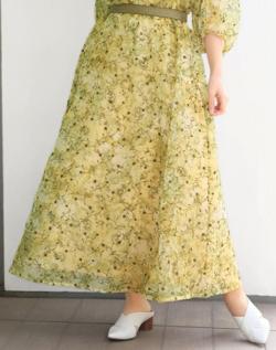 STRAWBERRY-FIELDS アルテミスブルーム スカート