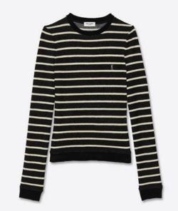 SAINT LAURENT モノグラム セーター