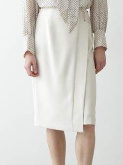 BOSCH ベルト付きラップタイトスカート