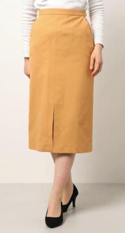 allureville シェルタリングソフトAラインスカート