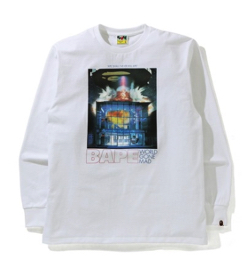 A BATHING APE BAPE INVASION L/S TEE M