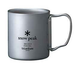 スノーピーク(snow peak) チタン ダブルマグ