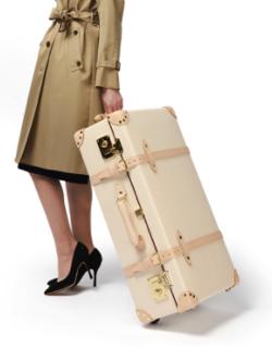 Globe -Trotter サファリ 30インチ エクストラディープスーツケース アイボリーホワイト