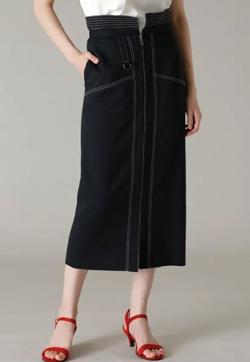 Maglie par ef-de ペプラムタイトスカート