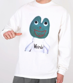 HYSTERIC GLAMOUR WEIRDO FROG Tシャツ