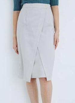 TONAL ドライツイルアシメタイトスカート