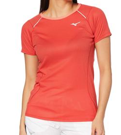 MIZUNO ランニングウェア ドライエアロフロー Tシャツ 半袖