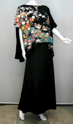KIMONO文珠庵 一点物正絹留袖ドレス