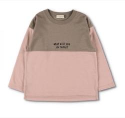 branshes 配色切替長袖Tシャツ
