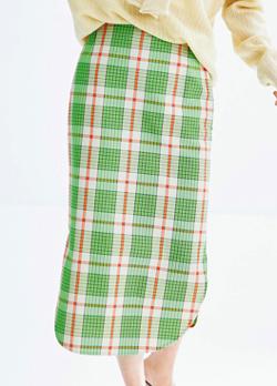 HAVEL studio チェック柄スカート