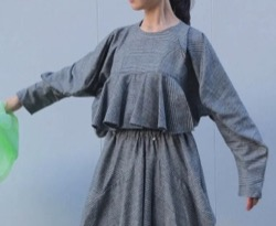 HOUGA twiddle blouse
