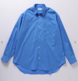 ADAM ET ROPE'(アダムエロペ)ビッグシルエット レギュラーカラーシャツ