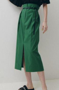 LE CIEL BLEU Belted High Waited Skirt