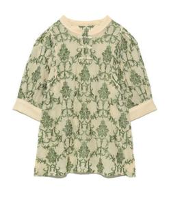Lily Brown オリエンタル刺繍チャイナトップス