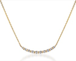 STAR JEWELRY K18 ネックレス TEN DIAMOND