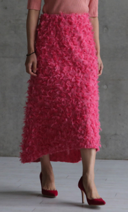 SHE Tokyo コットンウールスカート