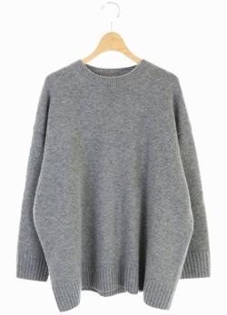 norc ウール ナイロン オーバーサイズ プルオーバー ニット セーター