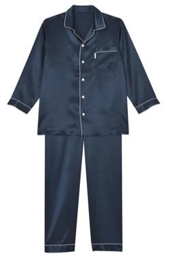 睡眠科学 パジャマ シルクサテン
